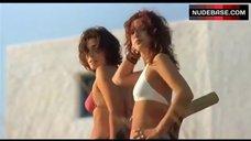 Valeria Solarino in Pink Bikini – What Will Happen To Us?