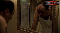 3. Edie Falco in Shower – The Sopranos