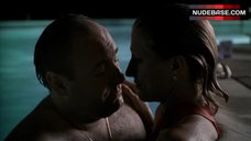 2. Edie Falco Hot Scene – The Sopranos