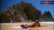 10. Kristin Cavallari Sunbathing in Bikini – Laguna Beach: The Real Orange County