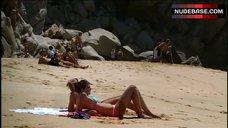 6. Kristin Cavallari Sunbathing in Bikini – Laguna Beach: The Real Orange County