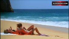 7. Kristin Cavallari Sunbathing in Bikini – Laguna Beach: The Real Orange County