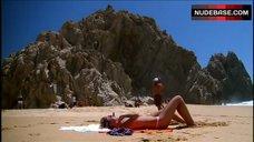 9. Kristin Cavallari Sunbathing in Bikini – Laguna Beach: The Real Orange County