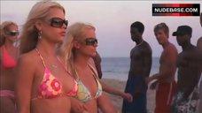 Kristin Cavallari in Bikini on Beach – Spring Breakdown