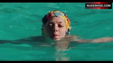 10. Amanda Seyfried Topless Swimming in Pool – Lovelace