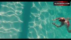 2. Amanda Seyfried Topless Swimming in Pool – Lovelace