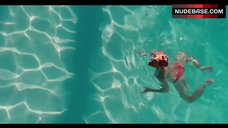 3. Amanda Seyfried Topless Swimming in Pool – Lovelace
