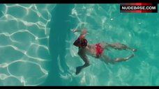 4. Amanda Seyfried Topless Swimming in Pool – Lovelace