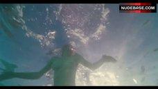 5. Amanda Seyfried Topless Swimming in Pool – Lovelace