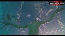 6. Amanda Seyfried Topless Swimming in Pool – Lovelace