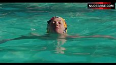8. Amanda Seyfried Topless Swimming in Pool – Lovelace