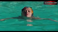 9. Amanda Seyfried Topless Swimming in Pool – Lovelace