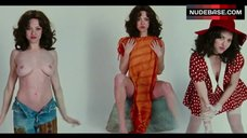 9. Amanda Seyfried Topless Posing – Lovelace