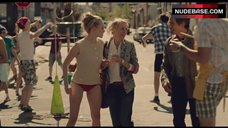 3. Amanda Seyfried in Red Panties – While We'Re Young