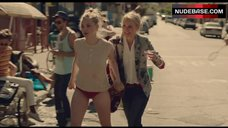 Amanda Seyfried in Red Panties – While We'Re Young