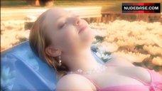 4. Amanda Seyfried Bikini Scene – Veronica Mars
