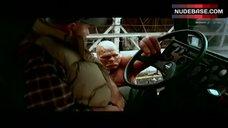 10. Jessica Alba in Lingerie Outdoor – Fantastic Four