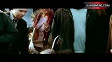 2. Jessica Alba in Lingerie Outdoor – Fantastic Four