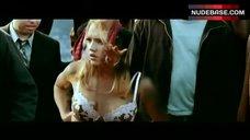 3. Jessica Alba in Lingerie Outdoor – Fantastic Four