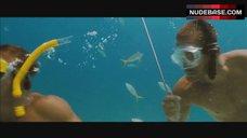 1. Jessica Alba Bikini Scene – Into The Blue
