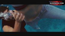 2. Jessica Alba Nip Slip – Into The Blue