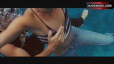 3. Jessica Alba Nip Slip – Into The Blue