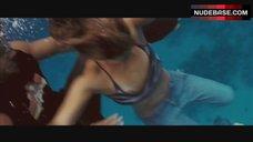 Jessica Alba Nip Slip – Into The Blue