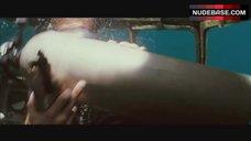 9. Jessica Alba Nip Slip – Into The Blue