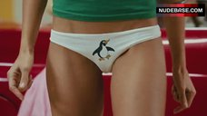 Jessica Alba in Panties with Penguin – Good Luck Chuck