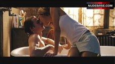 1. Jessica Alba Hot Scene in Bathroom – Awake