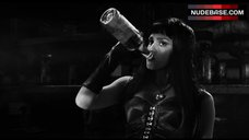 Jessica Alba Drinking Alcohol – Sin City: A Dame To Kill For