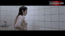 Olga Kurylenko Topless Shower Scene – The Ring Finger