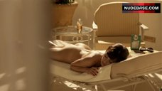 Olga Kurylenko Naked Sunbathing – Magic City