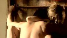 Saffron Burrows Frantic Sex Scene – Tempted