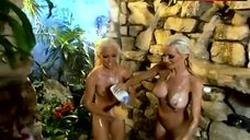 3. Holly Madison Naked in Shower – The Girls Next Door