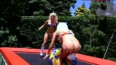 2. Holly Madison Ass Scene – The Girls Next Door
