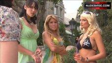 Holly Madison in Black Bikini – The Telling