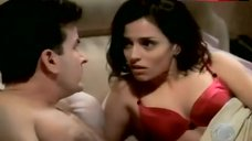 Emmanuelle Vaugier in Red Bra – Two And A Half Men