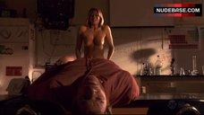 Kristen Miller Breasts Scene – Dexter