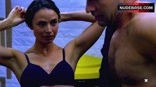 Mia Maestro Lingerie Scene – The Strain