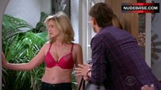 Courtney Thorne-Smith Lingerie Scene – Two And A Half Men