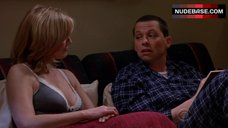 Courtney Thorne-Smith Sexy Scene – Two And A Half Men