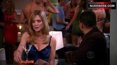 Courtney Thorne-Smith Lingerie Party – Two And A Half Men