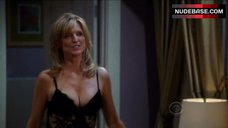 Sexy Courtney Thorne-Smith in Lingerie – Two And A Half Men