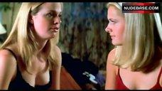 Maggie Lawson in Red Bra and Panties – Winter Break