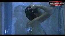 Ulrike Folkerts Nude in Shower – Tatort