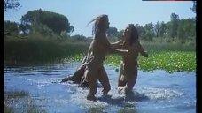 Pilar Orive Nude on Pond – Caged Women