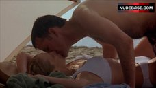 4. Patricia Clarkson in Sexy White Bikini – The Dying Gaul