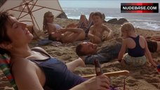 6. Patricia Clarkson in Sexy White Bikini – The Dying Gaul