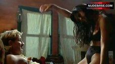 Hot Catherine Zeta-Jones in Black Lingerie – Blue Juice